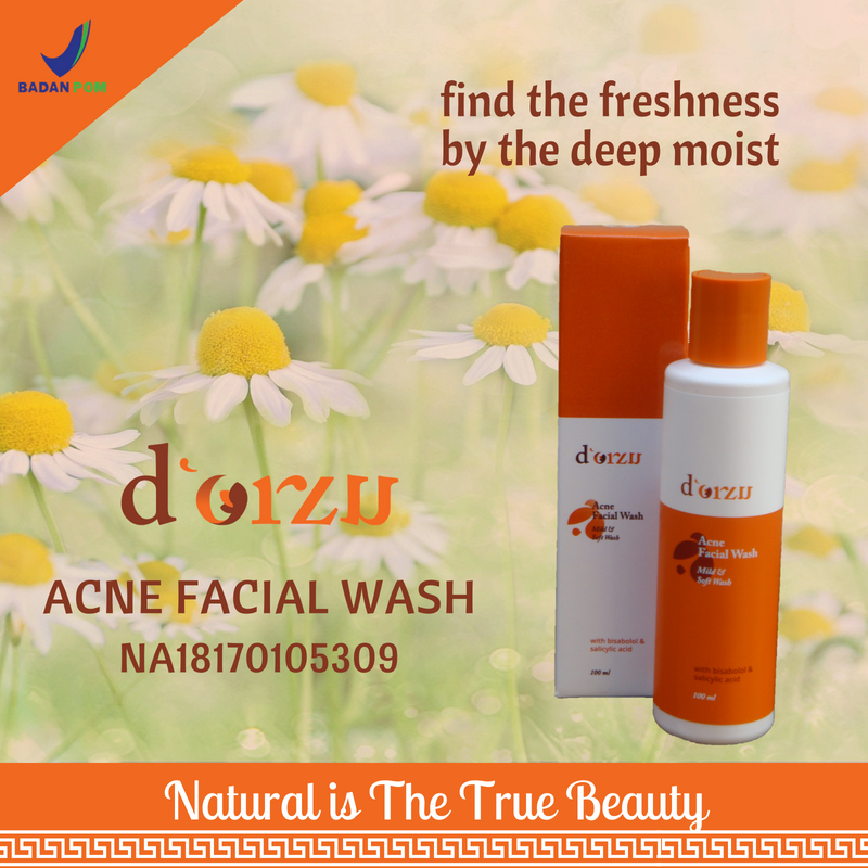 d;Orzu anti-acne facial wash