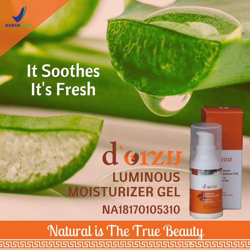 d'Orzu Luminous mosturizer gel