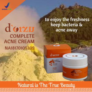 d'Orzu Anti acne cream